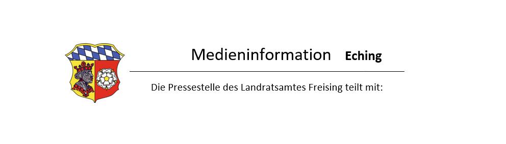 Landratsamt Freising Medieninformation