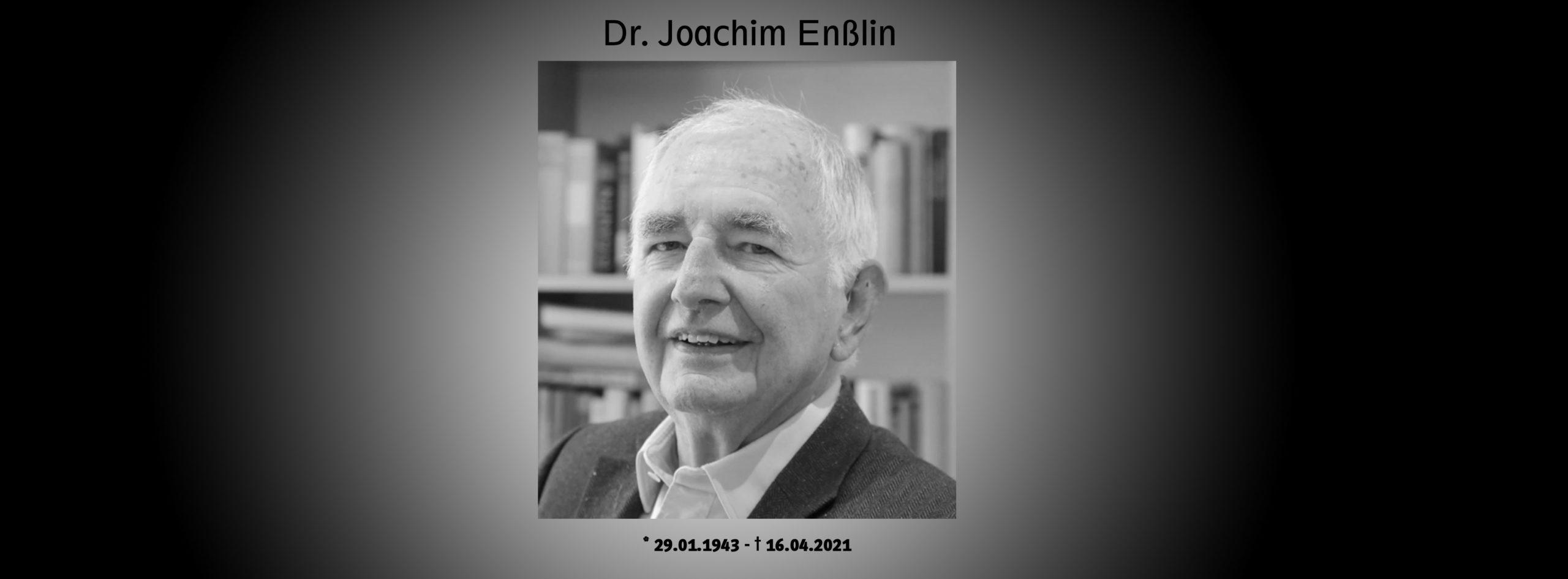 Dr.Joachim Enßlin